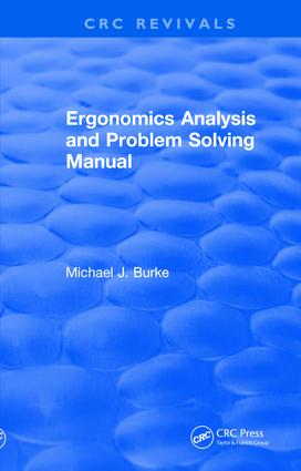 Ergonomics Analysis and Problem Solving Manual book cover