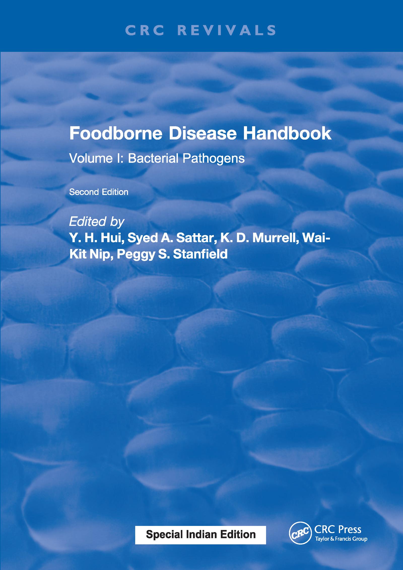 Foodborne Disease Handbook, Second Edition: Volume I: Bacterial Pathogens, 2nd Edition (Hardback) book cover