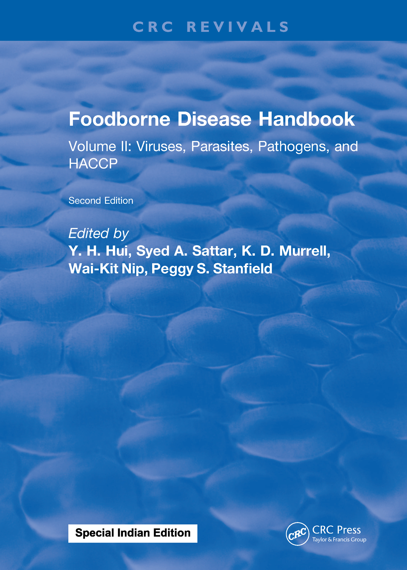 Foodborne Disease Handbook, Second Edition: Volume II: Viruses, Parasites, Pathogens, and HACCP, 2nd Edition (Hardback) book cover
