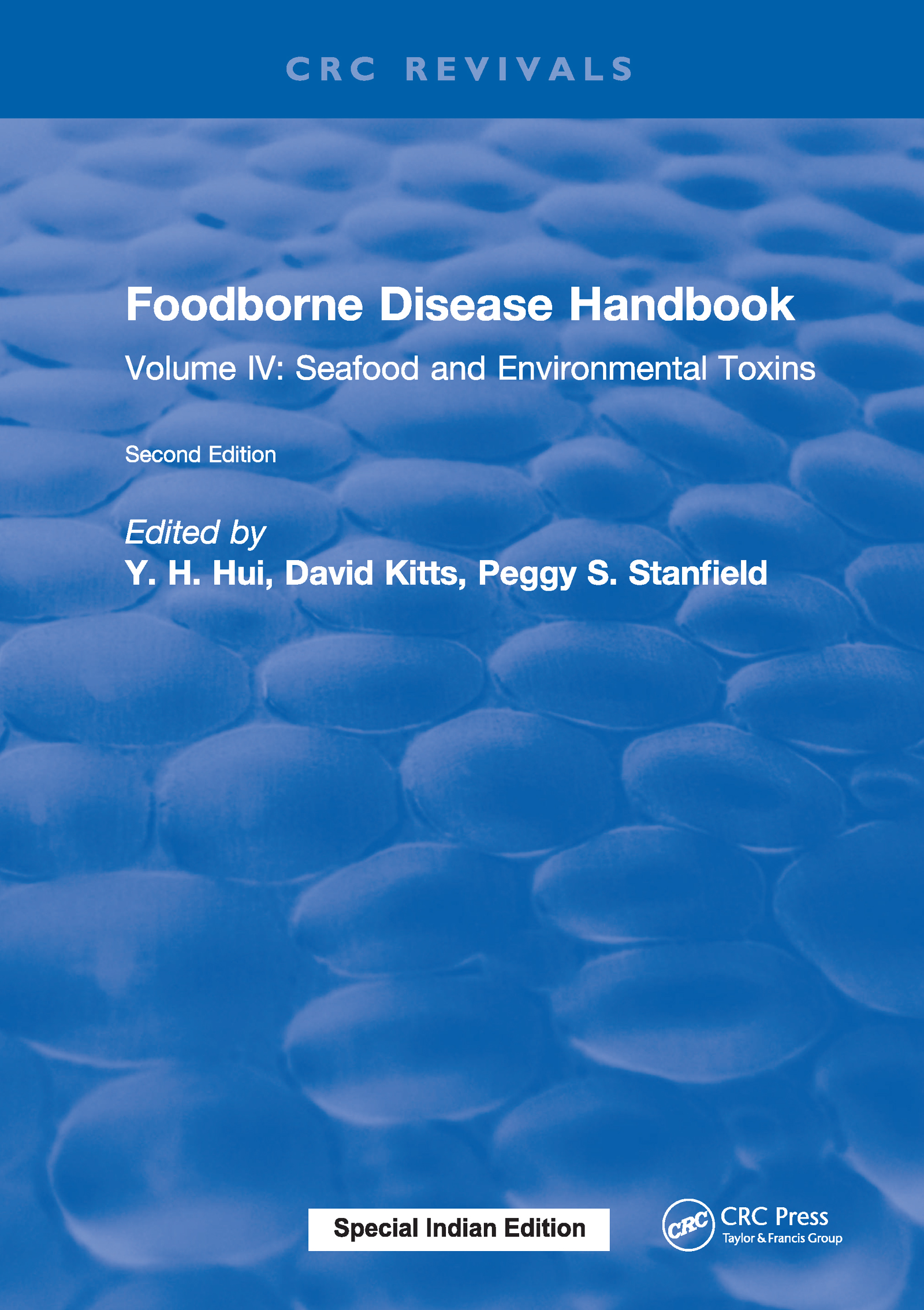 Foodborne Disease Handbook, Second Edition: Volume IV: Seafood and Environmental Toxins, 2nd Edition (Hardback) book cover