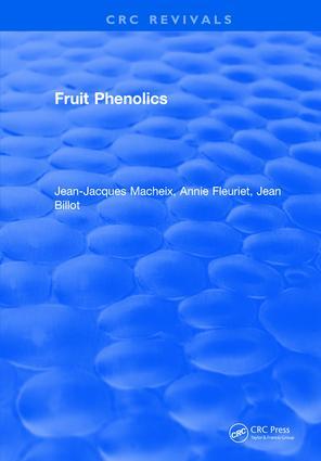 Fruit Phenolics: 1st Edition (e-Book) book cover