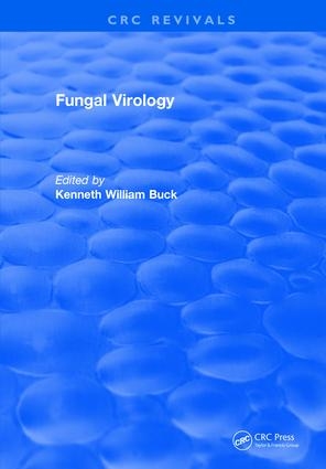 Fungal Virology: 1st Edition (Hardback) book cover