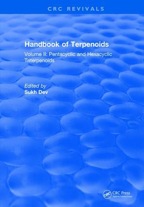 Handbook of Terpenoids: Volume II, 1st Edition (Hardback) book cover