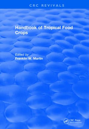 Handbook of Tropical Food Crops: 1st Edition (Hardback) book cover