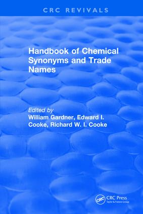 Handbook of Chemical Synonyms and Trade Names