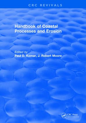 Handbook of Coastal Processes and Erosion: 1st Edition (Hardback) book cover