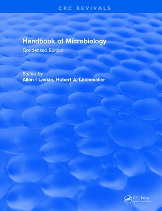 Handbook of Microbiology: Condensed Edition, 1st Edition (Hardback) book cover