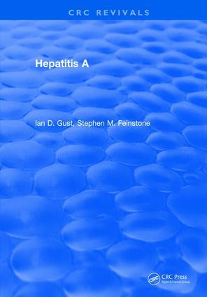 Hepatitis A: 1st Edition (Hardback) book cover