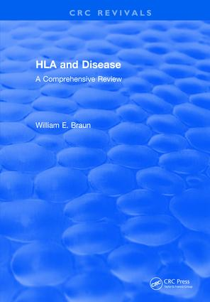 HLA and Disease: A Comprehensive Review, 1st Edition (Hardback) book cover