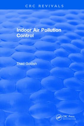 Indoor Air Pollution Control: 1st Edition (Hardback) book cover