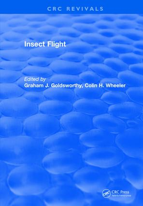 Insect Flight: 1st Edition (Hardback) book cover