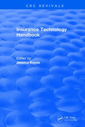 Insurance Technology Handbook: 1st Edition (Hardback) book cover