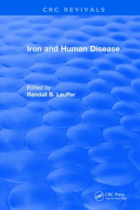Iron and Human Disease: 1st Edition (Hardback) book cover