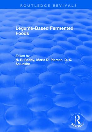 Legume Based Fermented Foods: 1st Edition (Hardback) book cover