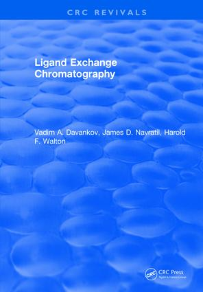 Ligand Exchange Chromatography: 1st Edition (Hardback) book cover