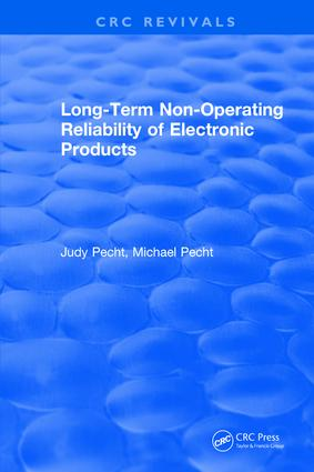 Long-Term Non-Operating Reliability of Electronic Products: 1st Edition (Hardback) book cover