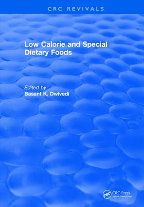 Low Calorie and Special Dietary Foods: 1st Edition (Hardback) book cover
