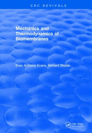 Mechanics and Thermodynamics of Biomembranes: 1st Edition (Hardback) book cover
