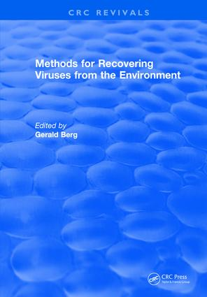 Methods For Recovering Viruses From The Environment: 1st Edition (Hardback) book cover