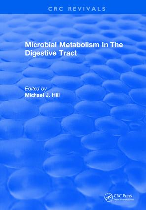 Microbial Metabolism In The Digestive Tract: 1st Edition (Hardback) book cover
