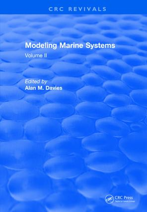 Modeling Marine Systems: Volume II, 1st Edition (Hardback) book cover
