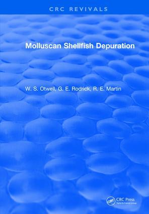 Molluscan Shellfish Depuration: 1st Edition (Hardback) book cover