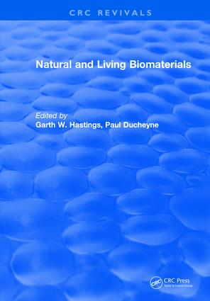 Natural and Living Biomaterials book cover