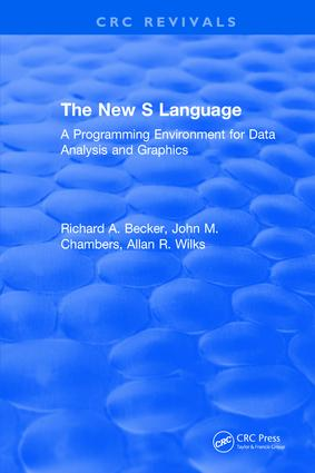 The New S Language: 1st Edition (Hardback) book cover