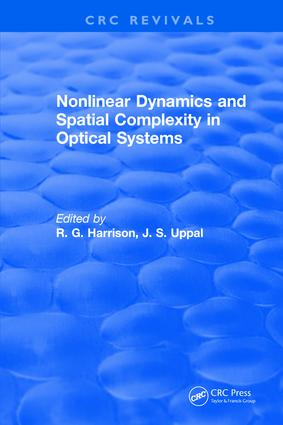 Nonlinear Dynamics and Spatial Complexity in Optical Systems: 1st