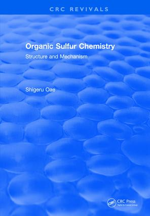 Organic Sulfur Chemistry book cover