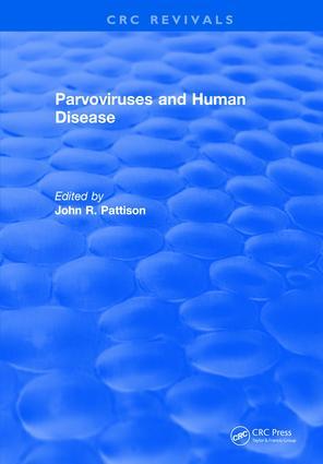 Parvoviruses and Human Disease: 1st Edition (Hardback) book cover