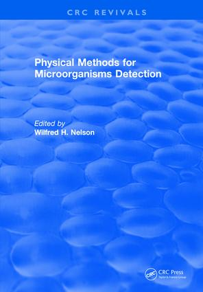 Physical Methods for Microorganisms Detection: 1st Edition (Hardback) book cover