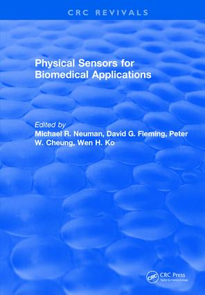 Physical Sensors for Biomedical Applications: 1st Edition (Hardback) book cover