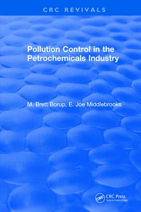 Pollution Control for the Petrochemicals Industry: 1st Edition (Hardback) book cover