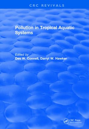 Pollution in Tropical Aquatic Systems: 1st Edition (Hardback) book cover