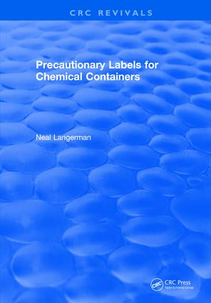 Precautionary Labels for Chemical Containers: 1st Edition (Hardback) book cover