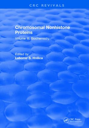Progress In Nonhistone Protein Research: Volume III, 1st Edition (Hardback) book cover