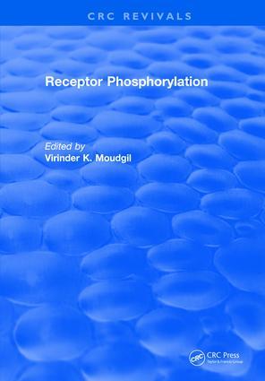 Receptor Phosphorylation: 1st Edition (e-Book) book cover