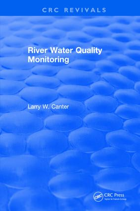 River Water Quality Monitoring: 1st Edition (Hardback) book cover
