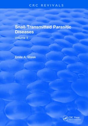 Snail Transmitted Parasitic Diseases: Volume II, 1st Edition (Hardback) book cover