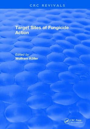 Target Sites of Fungicide Action: 1st Edition (Hardback) book cover