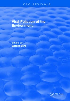 Viral Pollution of the Environment: 1st Edition (Hardback) book cover