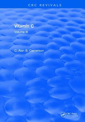 Vitamin C: Volume III, 1st Edition (Hardback) book cover