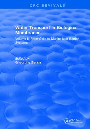 Water Transport in Biological Membranes