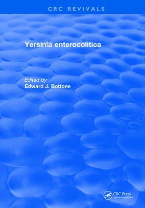 Yersinia Enterocolitica: 1st Edition (Hardback) book cover
