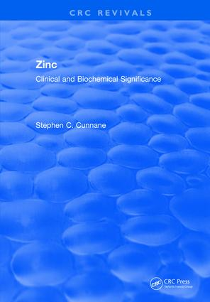 Zinc Clinical and Biochemical Significance: 1st Edition (Hardback) book cover