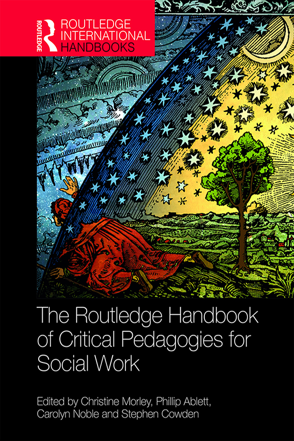 The Routledge Handbook of Critical Pedagogies for Social Work book cover
