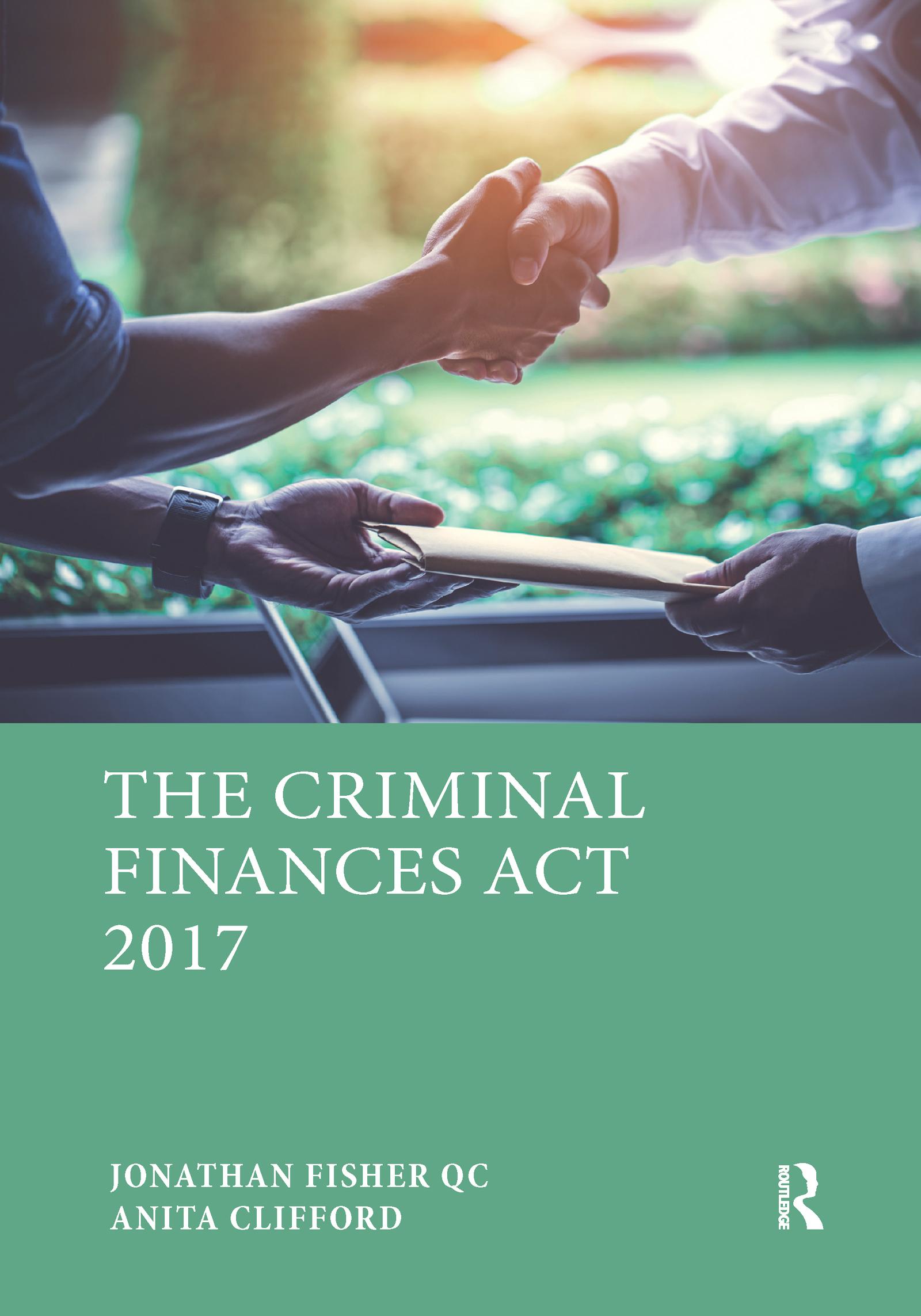 The Criminal Finances Act 2017