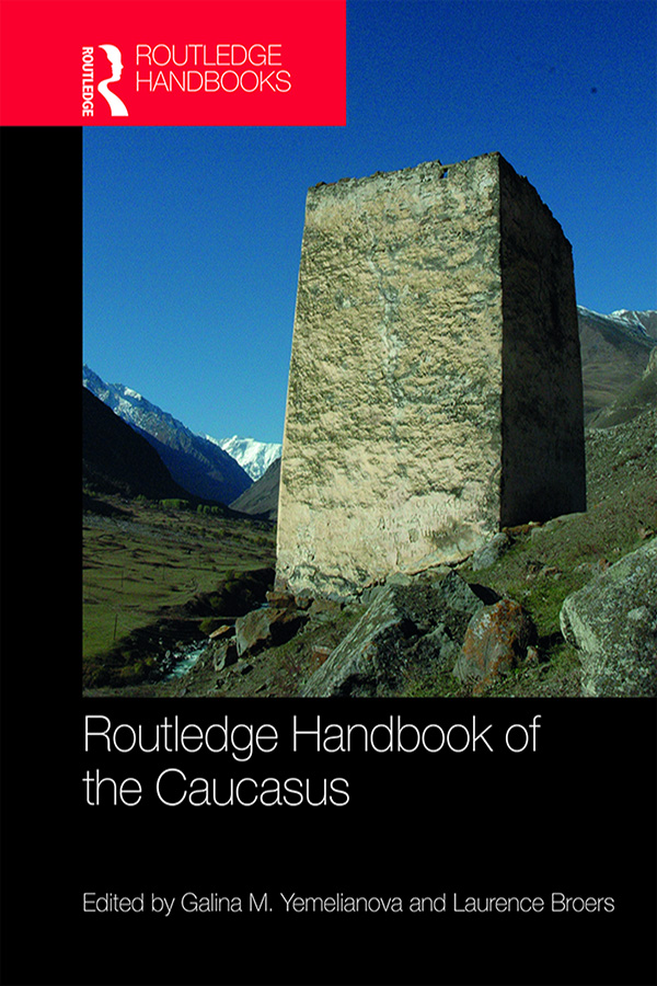 Routledge Handbook of the Caucasus book cover