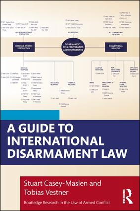 A Guide to International Disarmament Law book cover